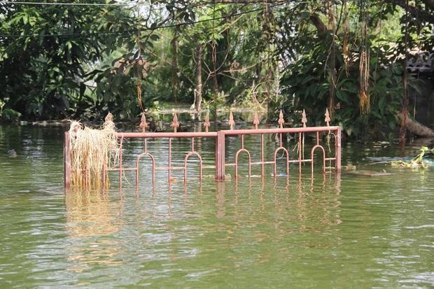 Hiện nước sông Bùi vẫn đang xu hướng rút dần. Mực nước sông Bùi tại Yên Duyệt lúc 7h sáng nay là 7,28m, trên báo động 3 0,28m, trung bình 2 giờ giảm được 0,01m. Tuy nhiên diễn biến mưa lũ trên địa bàn huyện Chương Mỹ vẫn đang hết sức phức tạp.
