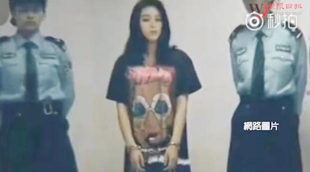 Hình ảnh bị bắt giữ của Phạm Băng Băng khiến khán giả ngạc nhiên.