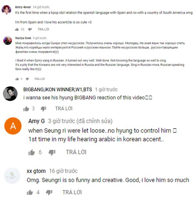 Hát hit mới 10 thứ tiếng, Seungri quả thực xứng đáng trở thành phiên dịch viên của BigBang