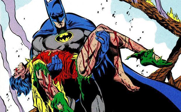 Cái chết của Robin Jason Todd trong truyện tranh