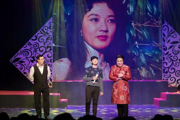 Tiếp nối mạch cảm xúc đó, màn trình diễn đặc biệt nhằm tri ân cố NSƯT Thanh Nga của bộ ba nghệ sĩ Hà Linh, Gia Bảo, Hoài Lâm với liên khúc Mưa rừng - Kiếp cầm ca.