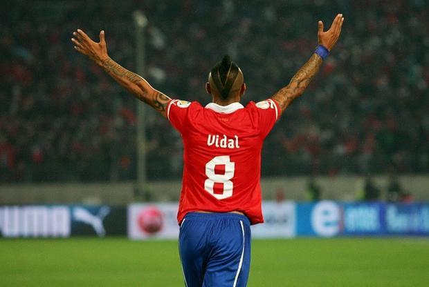 Vidal đang trên đường tới Barca.