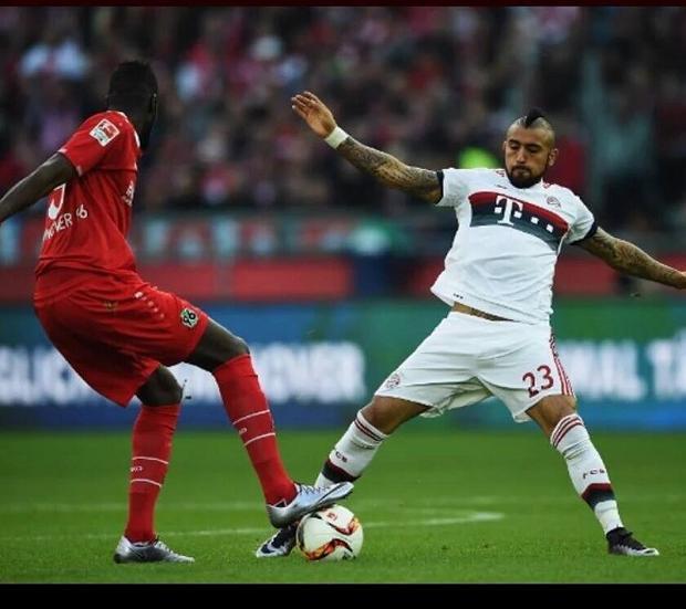 Vidal nổi tiếng ở khả năng đánh chặn cực tốt.