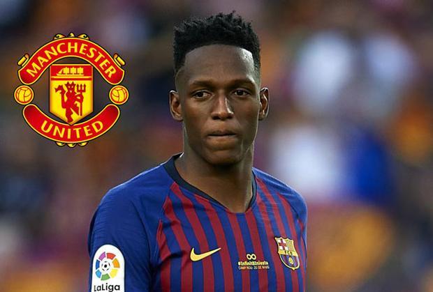 Mina đã đồng ý chuyển sang khoác áo Man United.