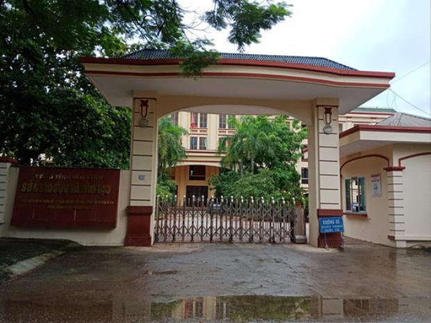 Trụ sở Sở Giáo dục và Đào tạo tỉnh Hòa Bình.
