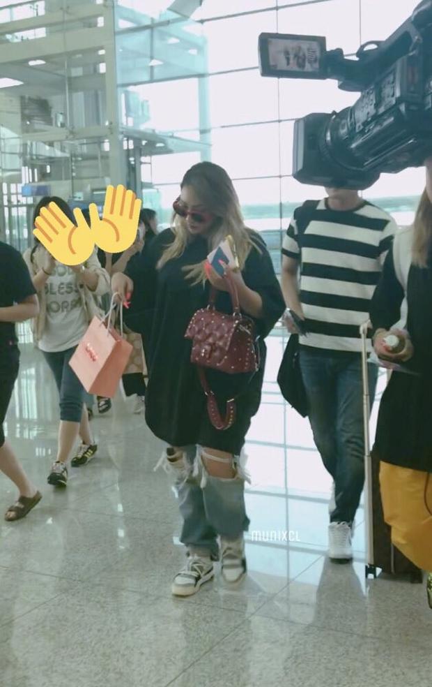 Hậu tin đồn rời YG, CL bất ngờ xuất hiện với ngoại hình phát tướng khiến fan tá hỏa