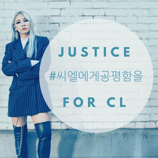 Trong khi fan đang lập hẳn 1 chiến dịch hashtag để bảo vệ quyền lợi cho CL.