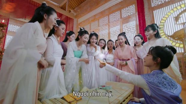 Cẩm Mịch được hội chị em của cung Nguyệt lão chào đón nồng nhiệt