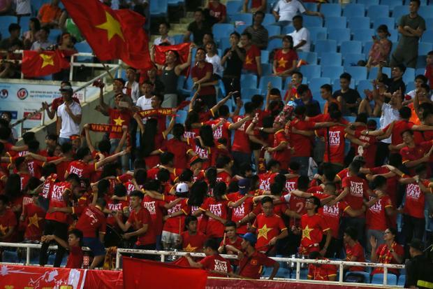 Chiến thắng của U23 Việt Nam mang đến niềm vui cho người hâm mộ. Ảnh: HĐ