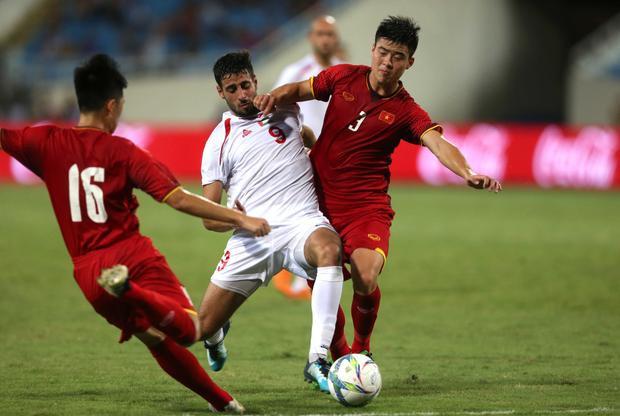 U23 Việt Nam vẫn chưa bung hết sức mạnh trước U23 Palestine. Ảnh: HĐ