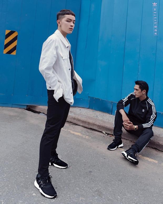 Kelbin Lei , Tronie Ngô hút mắt khán giả với hình ảnh bộ đôi cực chất dù chỉ diện đồ thể thao đơn giản.