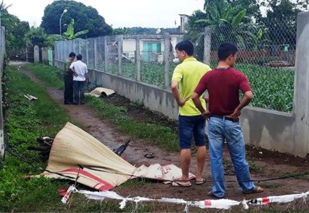 Nơi phát hiện hai thanh niên tử vong. Ảnh: Trần Lộc/Zing.vn.