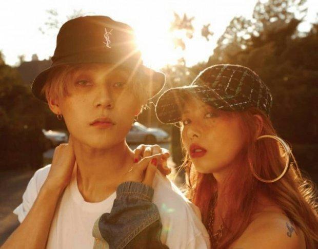 …cùng liên kết với thời gian hẹn hò của HyunA -E'Dawn…