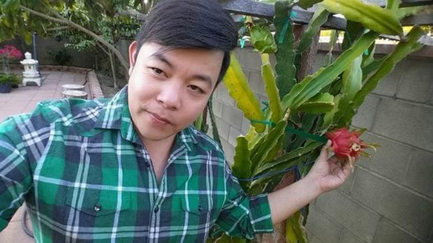 Nhiều người ví von khu vườn của Quang Lê không khác gì vườn cây của một người nông dân Việt Nam thứ thiệt.