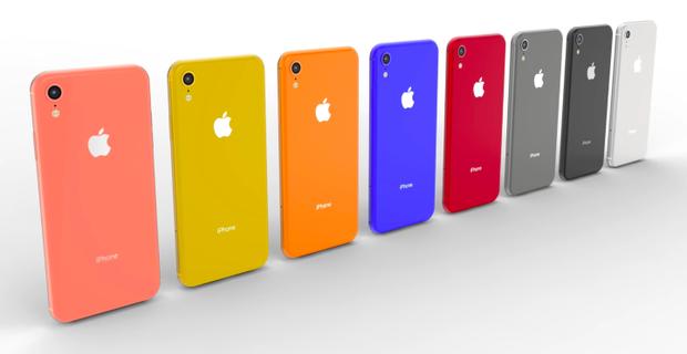 """Cam là một trong những màu máy chưa từng xuất hiện trên những chiếc iPhone. Trừ trước hợp của chiếc iPhoen 5C, Apple vẫn được xem là một nhà sản xuất khá truyền thống ở """"cuộc chơi"""" màu máy."""