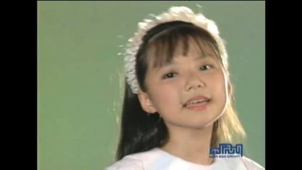 Vẻ ngoài xinh xắn của Ngô Quỳnh Anh (Mắt Ngọc) từ khi còn nhỏ.