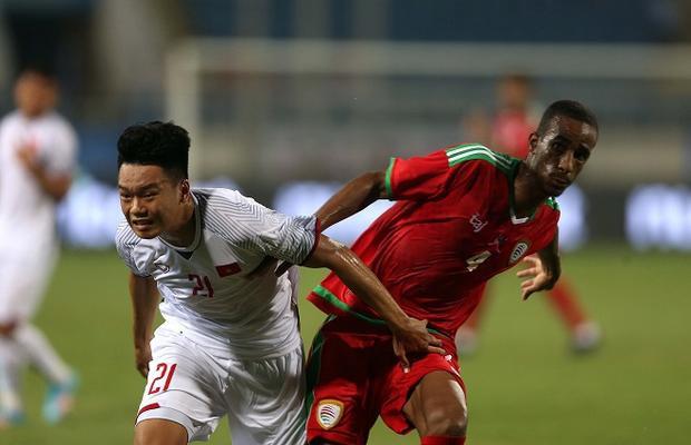 U23 Việt Nam không tạo ra bất cứ một cơ hội nào đáng kể trong hiệp 1. Ảnh: Văn Nhân.