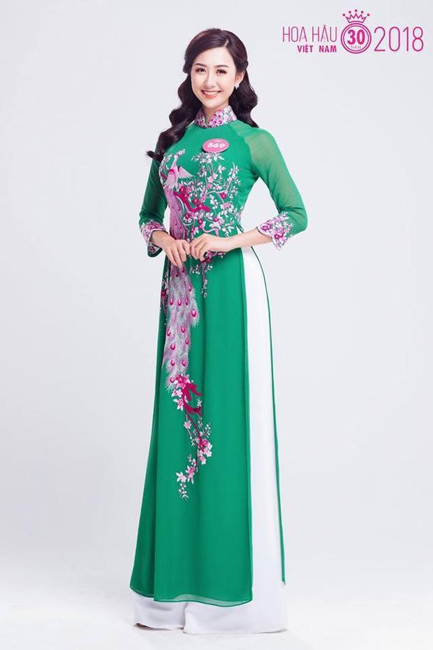 """Trong số 25 thí sinh vượt qua vòng Chung khảo miền Bắc, Phạm Ngọc Linh (1995) hiện là tiếp viên hàng không, Linh gây chú ý với gương mặt khả ái và nụ cười rạng rỡ, cuốn hút. Cô cũng là một trong những ứng cử viên được đánh giá là khá """"nặng ký"""" trong cuộc thi Hoa hậu Việt Nam 2018. Trước đó, Ngọc Linh là sinh viên của trường ĐH Ngoại thương, cô gái này cũng từng tham dự cuộc thi """"Duyên dáng Ngoại thương"""" năm 2015 và giành giải """"Hoa khôi Ngoại thương"""". Ngọc Linh có thể giao tiếp tốt hai ngoại ngữ Anh, Nhật. Ảnh: Vietnamnet."""