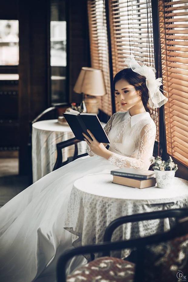 """Nhan sắc """"hoa ghen thua thắm"""" của Nguyễn Huyền Trang."""