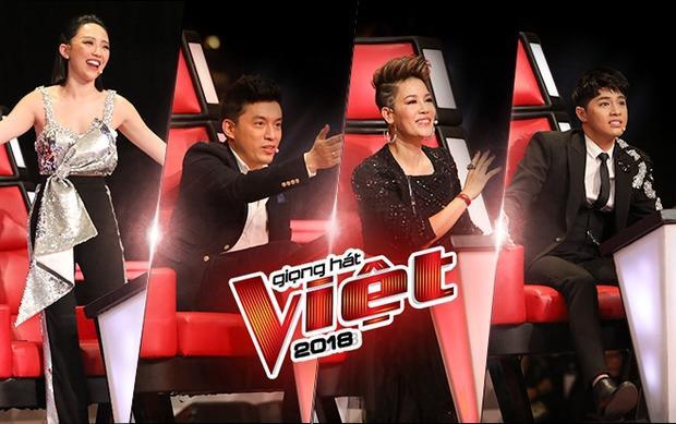 Giọng hát Việt mùa thứ 5 đang tăng tốc trên đường đua cùng bộ tứ HLV quyền lực và các chiến binh.