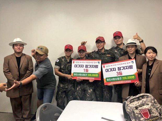 Màn biểu diễn Fxxk It đã giúp Daesung và đồng đội đạt giải nhất trong lễ hội này.