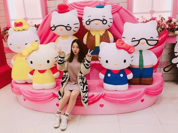 Có một hòn đảo Hello Kitty toàn màu hường ở Hàn Quốc khiến con gái cứ phải phát cuồng