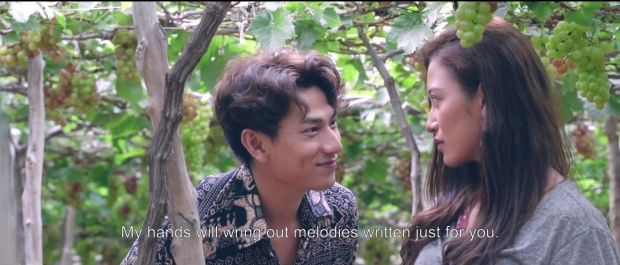 Phim Mùa viết tình ca gây xôn xao với cảnh nóng táo bạo của Isaac và Phan Ngân The Face