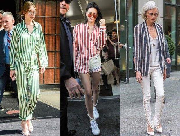 Phong cách này còn được nhiều sao ngoại mê mẩn, đơn cử như: Gigi Hadid, Kylie Jenner và Cara Delevingne.