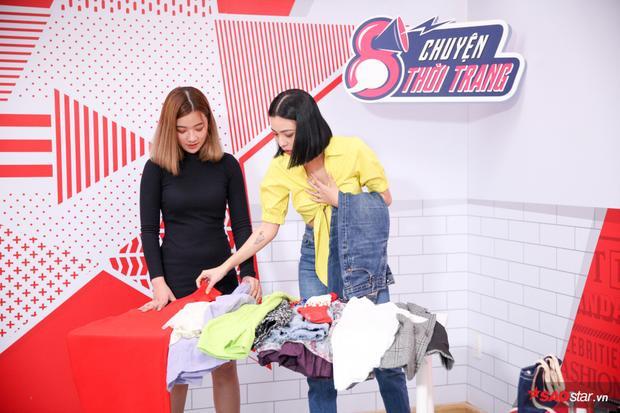 Lựa chọn một chiếc quần jeans, Tú Hảo cho biết, đây là item yêu thích của cô bởi sự linh hoạt trong cách mix, match.