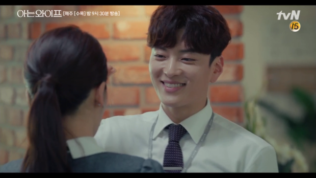 Familiar Wife tập 3: Vừa mới vui sướng vì cưới Kang Han Na, Ji Sung đã sợ đến mất hồn khi gặp lại Han Ji Min