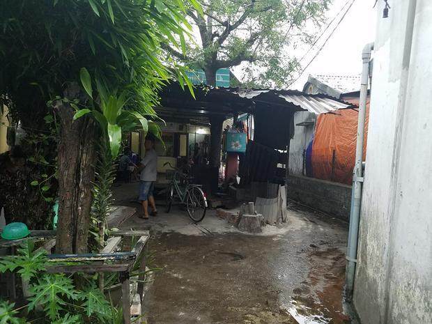 Căn nhà nơi nạn nhân bị đâm tử vong. Ảnh: báo Dân Việt.