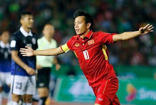 HLV Park Hang Seo từng tin tưởng giao băng đội trưởng cho Văn Quyết tại giải U23 quốc tế. Ảnh: Tiền phong.