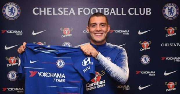 Kovacic gia nhập Chelsea theo bản hợp đồng cho mượn từ Real Madrid. Ảnh: Twitter.