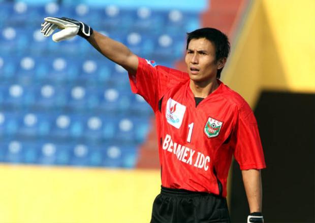 Cựu thủ môn DDTVN Nguyễn Thế Anh.