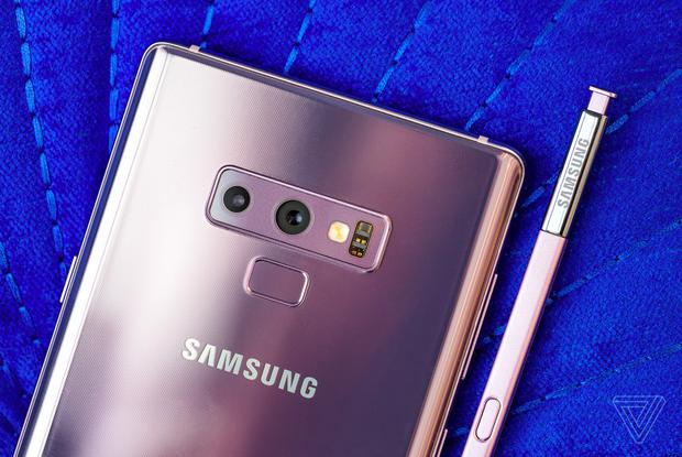 Bút S-Pen trên Samsung Galaxy Note9 sẽ đồng màu với thiết bị…