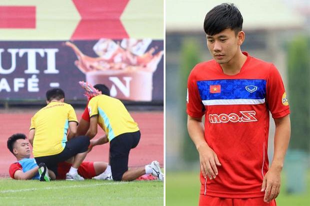 Minh Vương được triệu tập sau khi Thành Chung dính chấn thương nặng.