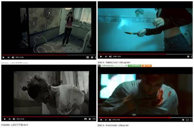 Hình ảnh trong 2 MV được khán giả chỉ ra sự trùng hợp.