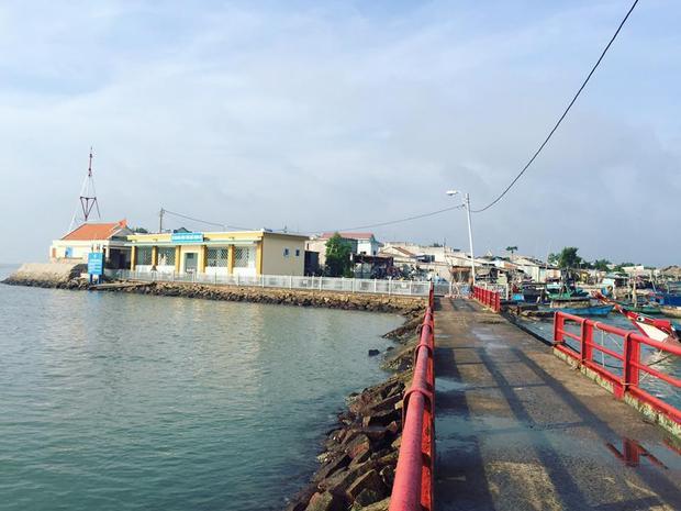 Sau khi đò cập bến, du khách sẽ được đặt chân lên đảo Thạnh An. Ảnh: Internet