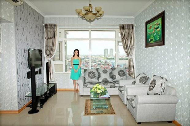 Căn hộ cao cấp với nội thất sang trọng.