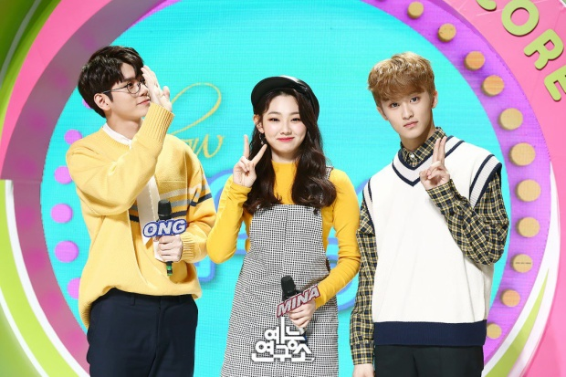 Bộ ba MC đáng yêu của Show! Music Core.