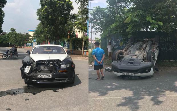 Cả hai xe hư hỏng khá nặng. Ảnh Beatvn