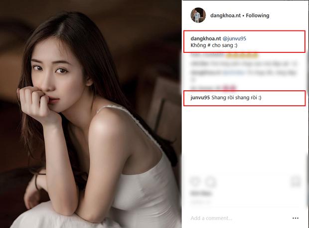 """Ngay khi Jun Vũ """"giận dỗi"""", Đăng Khoa liền đăng một bức ảnh khác chiều theo ý cô."""