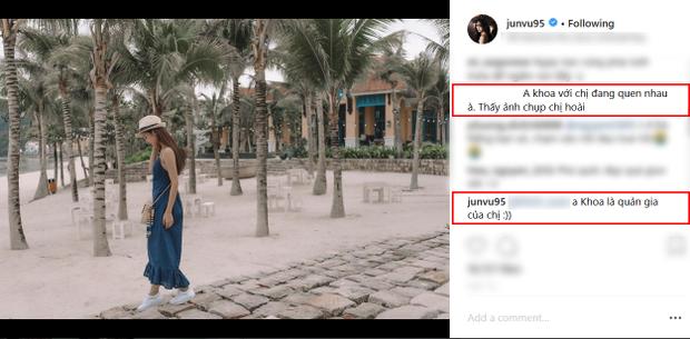 Jun Vũ trả lời fan về mối quan hệ với anh chàng Photographer.