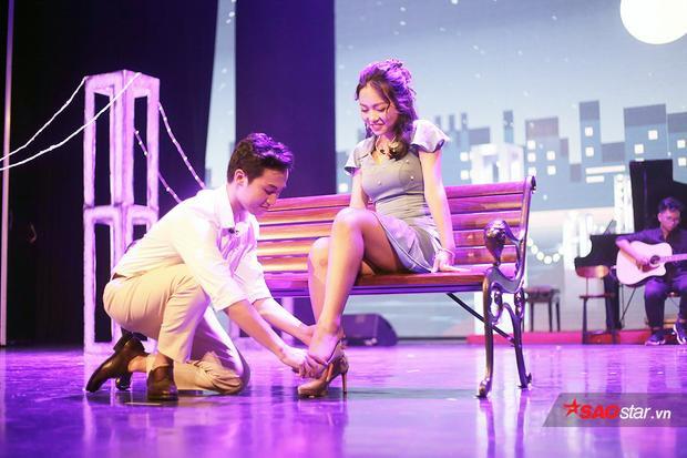 Hình ảnh đầy tinh tế của nhân vật nam chính được diễn viên trẻ Lê Thái Minh thể hiện xuất sắc