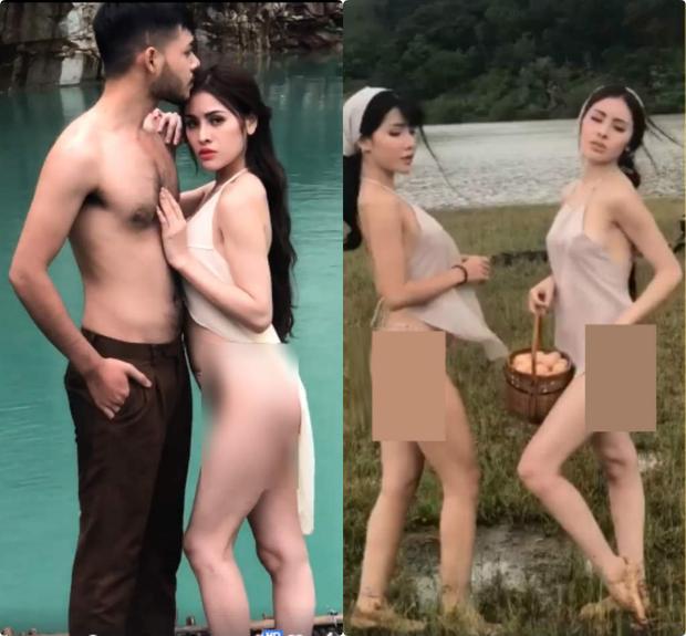 Tối 11/8,mạng xã hội bất ngờ lan truyền cả một series clip gây phản ứng mạnh mẽ khi hai cô gái ăn mặc mát mẻ và vô tư khoe dáng ở Tuyệt Tình Cốc Đà Lạt. Ngay sau khi những hình ảnh này được đăng tải, cư dân mạng khác đã nhanh chóng phát hiện ra trên trang facebook cá nhân của Á hậu Thư Dung - Á hậu 2 của Miss Eco International 2018 được nhiều người gắn tên cô vào loạt hình ảnh, clip nói trên. Đáng chú ý, diện mạo của một trong hai cô nàng xuất hiện trong hình ảnh/clip ăn mặc hở hang khá giống Á hậu này.