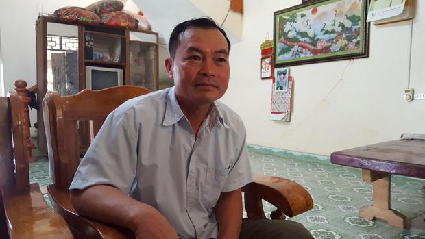 Ông Phùng Quý Mão, Chủ tịch UBND xã Kim Thượng.