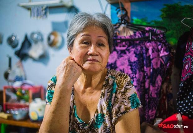 Bà Hai (tên thật là Lê Thị Kim Ngân), năm nay đã gần 70 tuổi.
