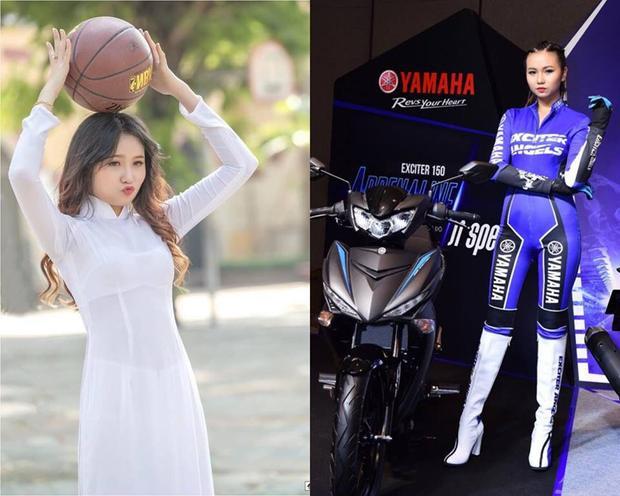 Bích Ngọc sở hữu vẻ đẹp rất ngọt ngào. Con gái đi xe tay côn là 'gái man'? Hãy nhìn 4 thiên thần của Yamaha để biết bạn đã sai!