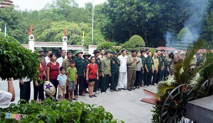 Nơi yên nghỉ của 10 cô gái Đồng Lộc