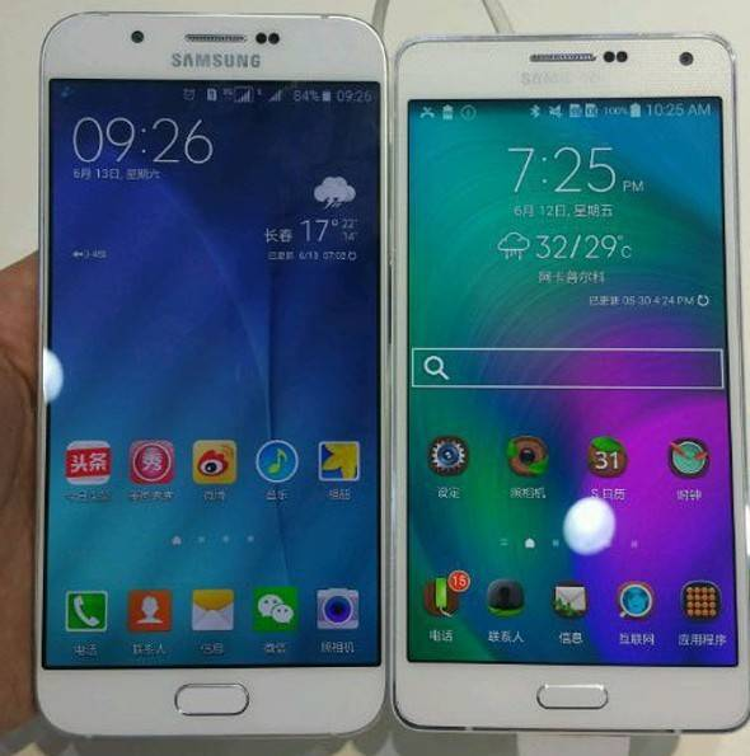 Lộ ảnh thực tế Galaxy A8 màn hình 5,7 inch, mỏng gần 6 mm